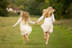 running girls