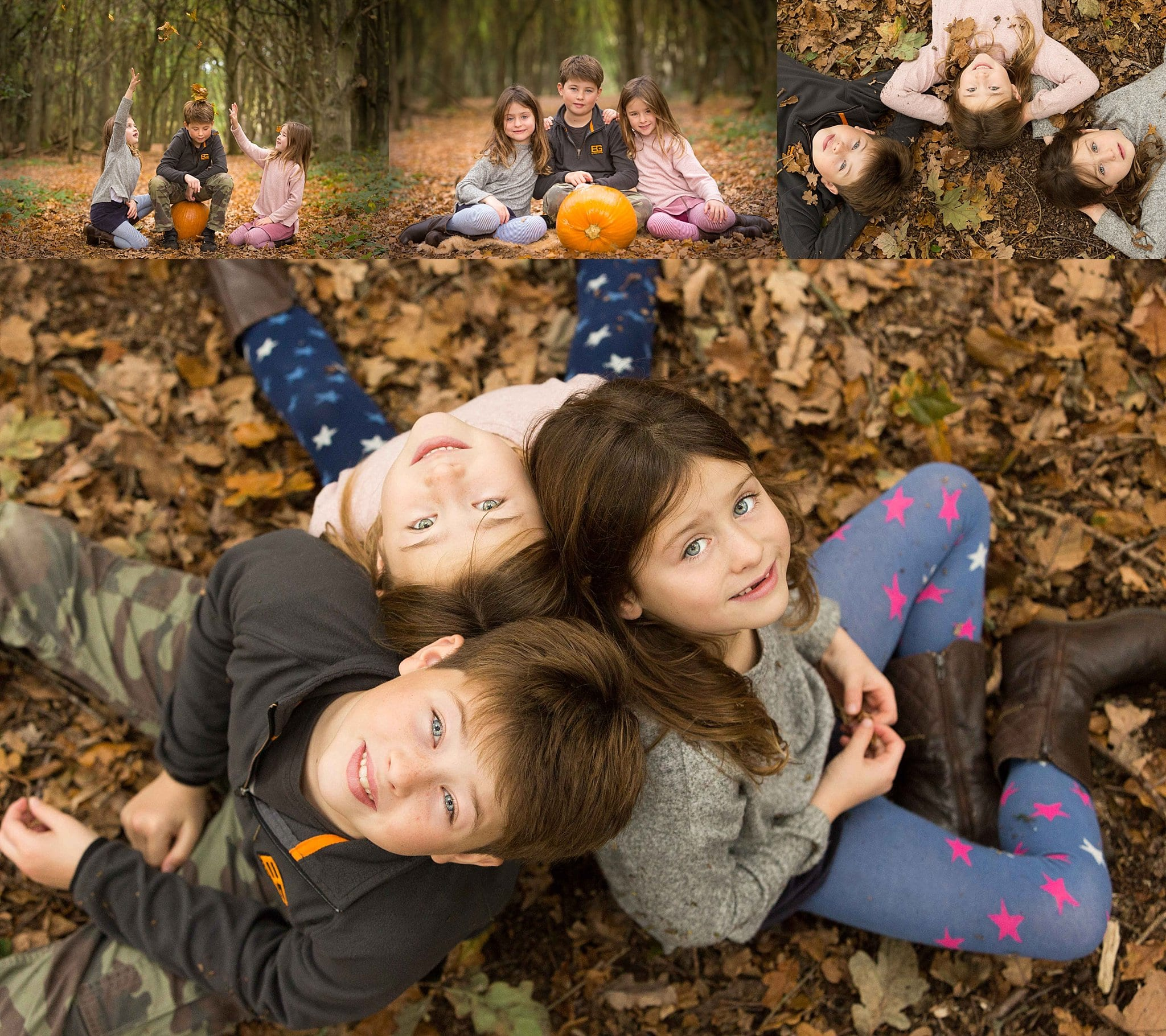 family autumn photographer photoshoot St Albans Harpenden