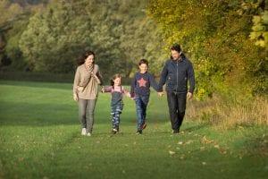 family autumn Verulamium