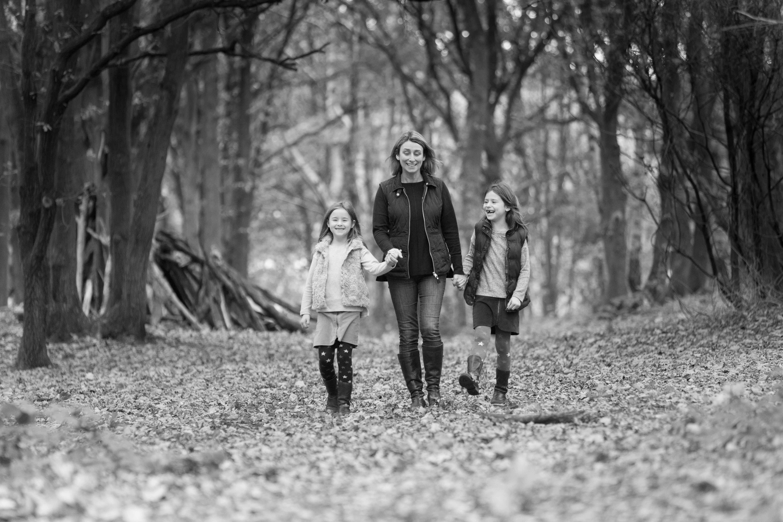 autumn family photographer St Albans photoshoot Harpenden