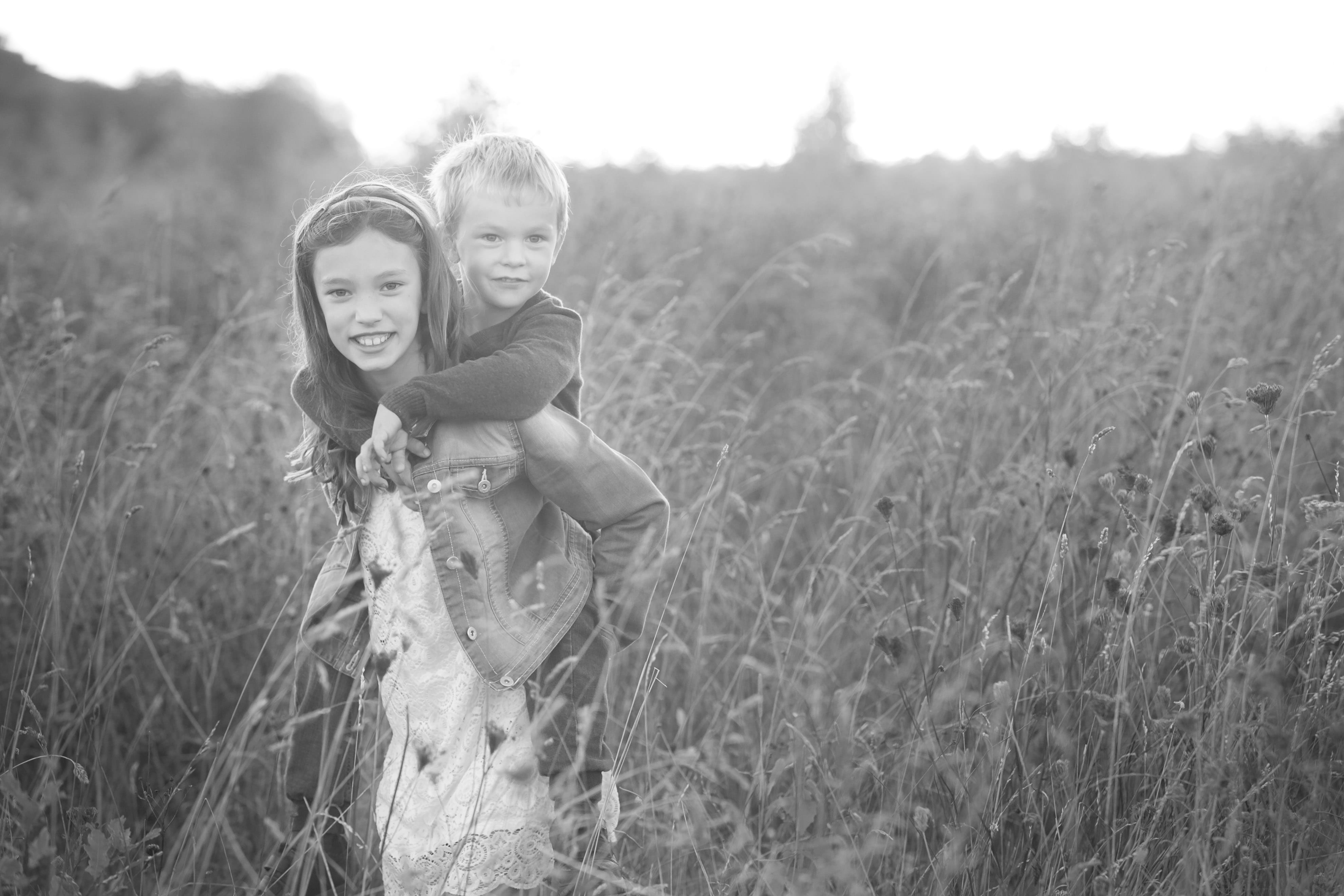 cornfield siblings