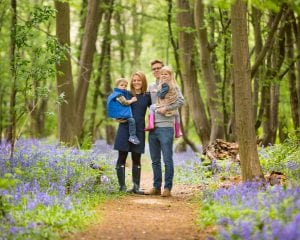 family bluebells