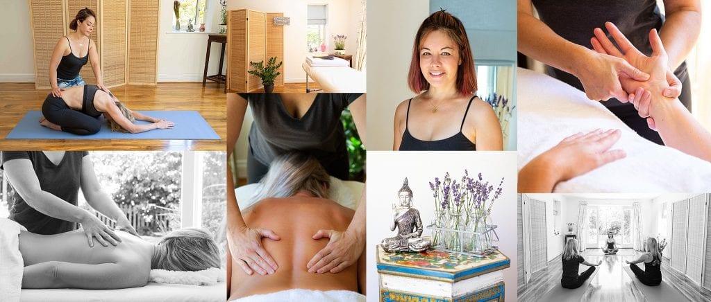 Lavender Massage & Yoga