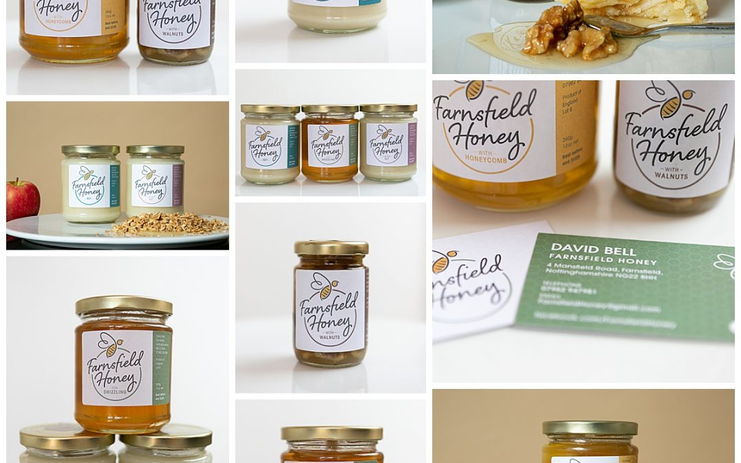 Farnsfield Honey Rebrand